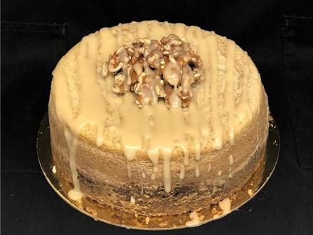 Maple Walnut Cheesecake