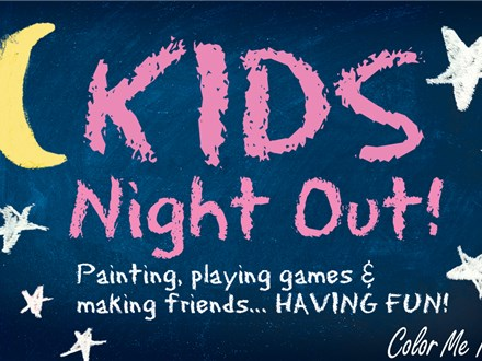 Kids Night Out - Sonic - November 15