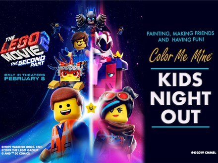 Kids Night Out - Lego Movie the Second Part -  Feb 15, 2019 6-8pm