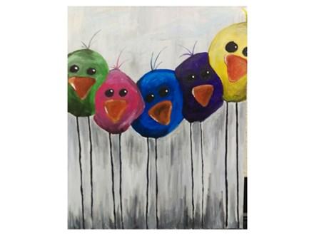 Little Birdies - Paint & Sip - Dec 28