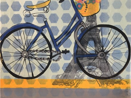 """Bike Love"" Pottery Night! Friday, July 1st from 7-9p"