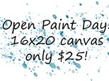 Open Paint Day - 12.18.18