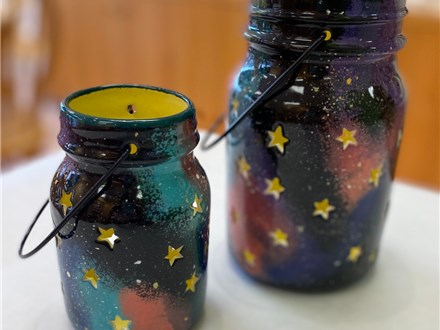 SOLD OUT Summer Camp Galaxy Lanterns (Set of 2) Monday, August 10th 10am-12pm