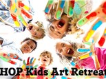 HOP Kids Summer Art Retreat - July 14th-17th & 21st-24th - 10am to 3pm Each Day