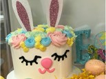 Parent/Child Bunny Bling Cake Class