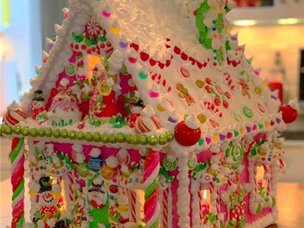 The Sweet Life of The Gingerbread House