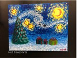 Paint N' Sip: Starry Night Xmas