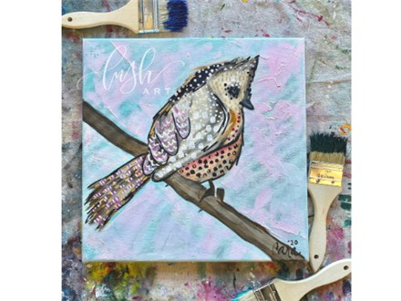 Foul Mouthed Fowl Paint Class - WR