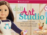 """American Girl Event"" at Cafe Monet Art Studio Austin"