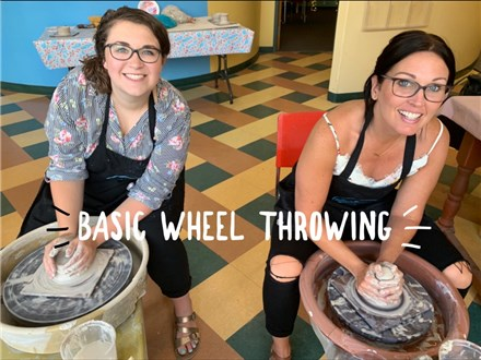 Basic Wheel at Pigeon Hen Pottery