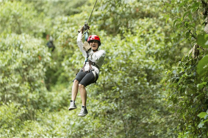 Skull Canyon Eco Experiences Zipline