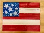 Americana Board Art July 3rd