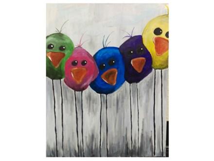 Little Birdies - Paint & Sip - March 17