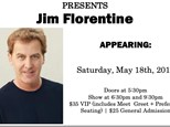 Jim Florentine (Regular Tickets) - May 18th