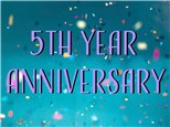 5th YEAR ANNIVERSARY PARTY!!!