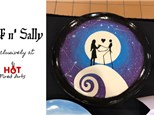 Pottery Painting Class: Jack n' Sally