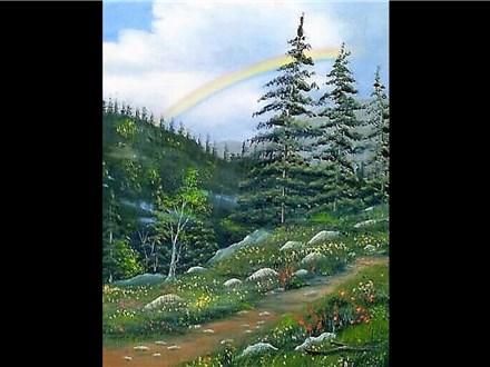 "11/11 GA-Oil: ""Rainbow Trail"" 6:30 PM $45"