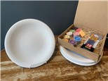 PoGo Kits: Paint Your Own Pottery ToGo! (Coupe Dinner Plate(s))