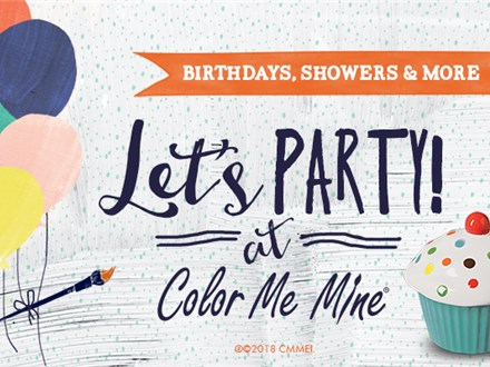 PRIVATE PARTY AT COLOR ME MINE (BEFORE/AFTER HOURS)