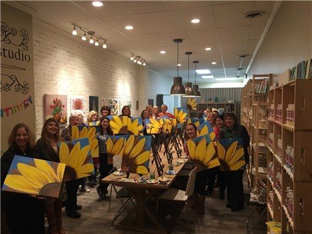 THURSDAY NIGHT BYOB Canvas Paint & Sip Nite