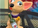 """Open Air Art in The Park: """"Chihuahua Wine-r"""", 8/19/20"""