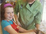 Kid's Pottery Wheel Workshop - 02.15.17 - Afternoon Session