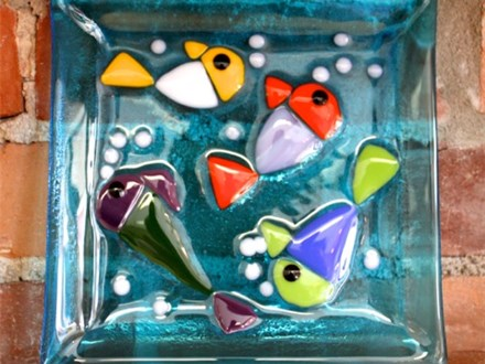 "Glass Fusing ""B"" - Community Groups and other Large Groups (10 people and up) Ages 10 to adult"