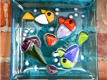 """Glass Fusing """"B"""" - Community Groups and other Large Groups (10 people and up) Ages 10 to adult"""