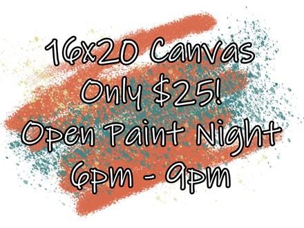 Open Paint Night - 06.06.18