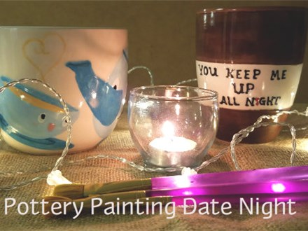 Pottery Paint Date Night