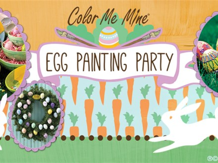 EGG PAINTING PARTY! Saturday April 13th - 10am-12pm