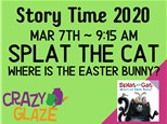 StoryTime & Paint Splat the Cat: Where's the Easter Bunny Mar 7th