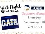GSU Southern Women Paint Night @ 40 East