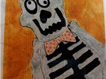Mr. Bones Dinner Plate Art Class ages 5 - 11