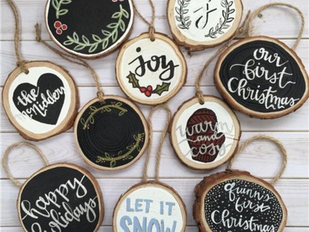 Wooden Ornament Painting Nov. 16