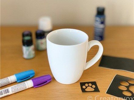 Virtual - Single Day Event (Paint a Mug)