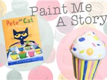 Paint Me A Story: Pete the Cat and the Missing Cupcakes