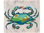 Crab Paint Class