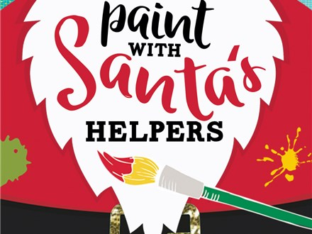 Paint with Santa's Helpers