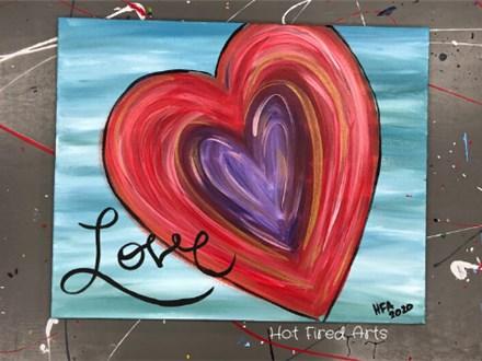 Paint n Sip: Love