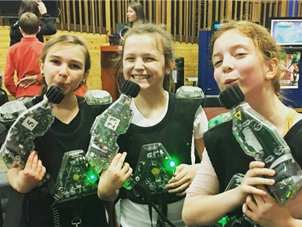4 Games of Laser Tag For Only $20 Per Participant