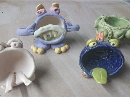 Pinch Pot Animal or Fruit.
