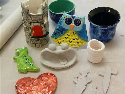 Hot Pots Clay Class: Introduction to Clay