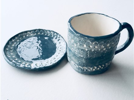DIY Clay Mug