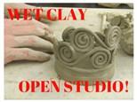 Wet Clay Open Studio!
