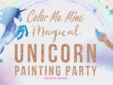 SOLD OUT-Unicorn Painting Party - Sun Jan 20th