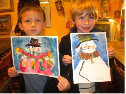 Christmas Art Workshop at The Art Chalet
