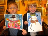 Christmas Art Workshop at The Art Chalet