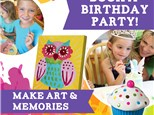 SILVER Pottery Birthday Party Package