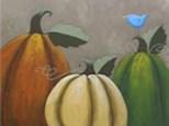 """Rustic Pumpkins"" Canvas Class, September 28th"